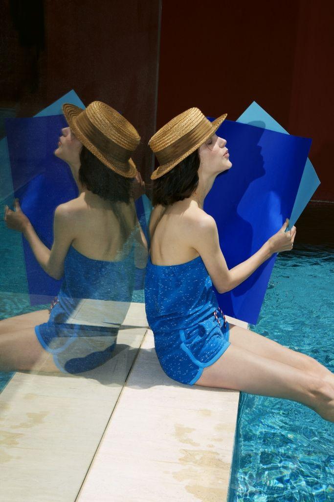 Spring/Summer 2014 lookbook - #womensfashion #romper #PetitBateau http://www.petit-bateau.fr/?CMP=SOC_11732&SOU=&TYP=SOC&KW=pinterest