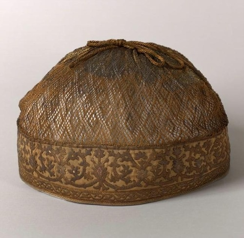 The hair cap of Maria, the second wife of Ivan IV, the 16th century, Russia