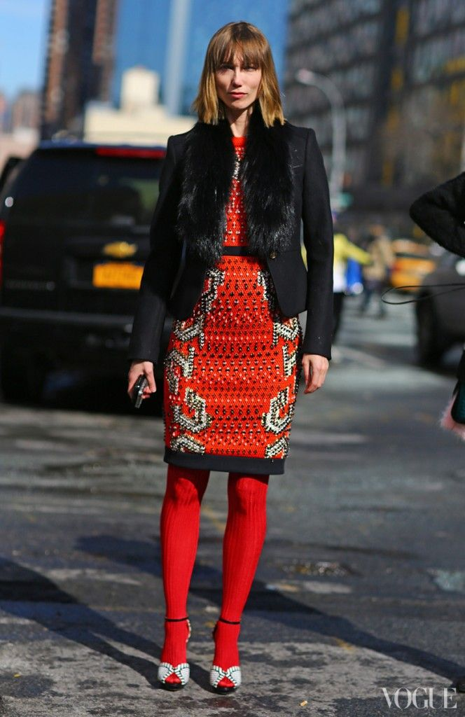 Street Style For Fall-2013 From The Streets Of Fashion Weeks