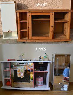 Play kitchen, une cuisine pour mes enfants