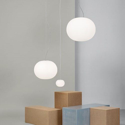 F4195009: Discover the Flos suspended lamp model Mini Glo-Ball S
