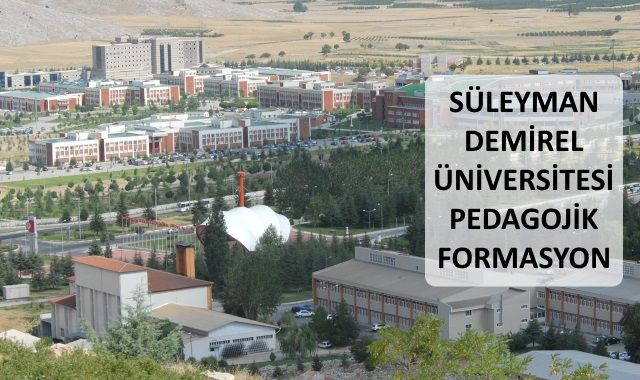 Süleyman Demirel Üniversitesi Pedagojik Formasyon