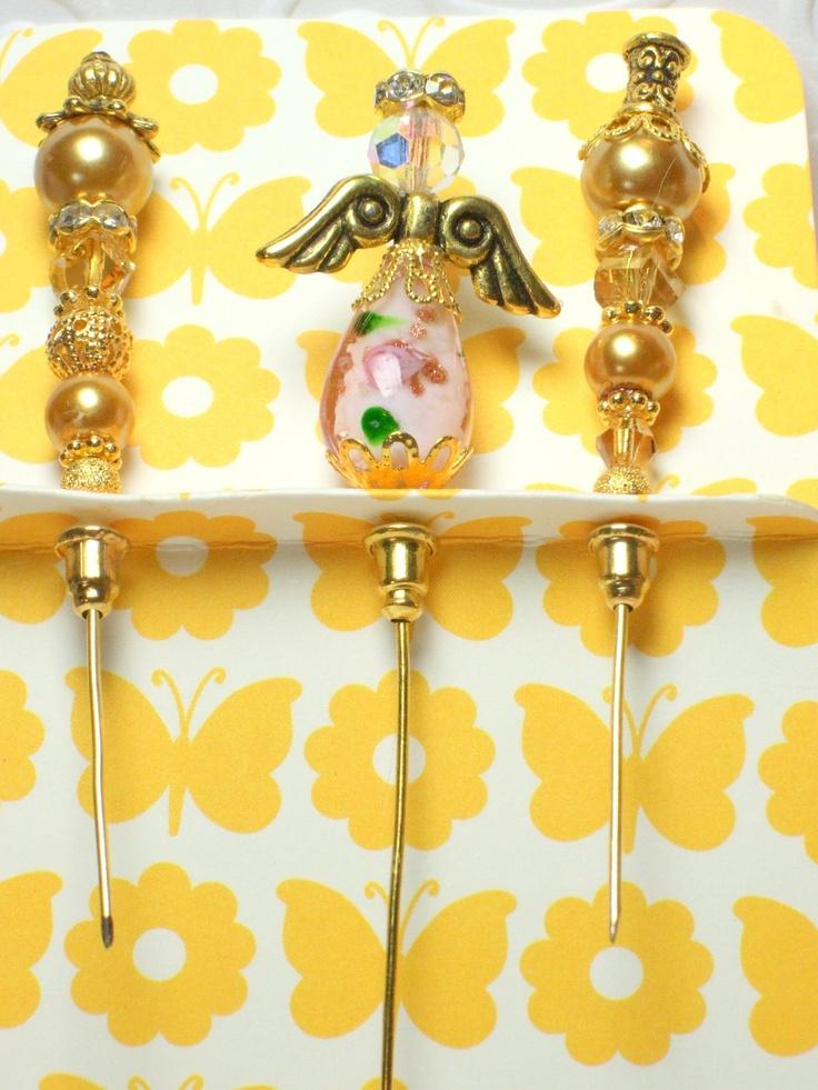 Bead Angel Stick Pin Set