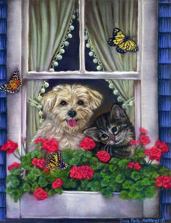 Иллюстрации Триша Рейли-Matthews