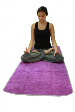 Poise Yoga Towel Eco anti-slip mesh in the back  Supper soft and superious durability  Fits perfectly over traditional yoga mat  Size : 28 inch x 68 inch  Ultra absorbent holds 7 times its weight