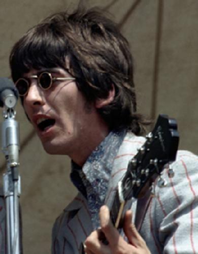 #GeorgeHarrison in Cincinnati, american tour 1966. #Beatles #music
