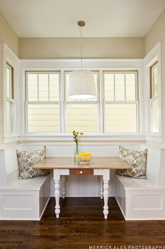 193 best images about banquette seating on pinterest for Built in banquette seating kitchen