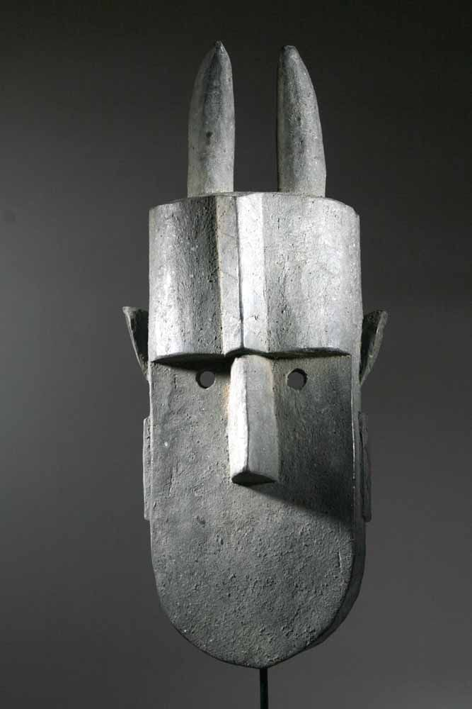 Le masque africain Toma ou la simplicite dans l'art africain