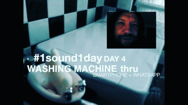 #1sound1day Sampling 1 sound each day.  Day 4: washing machine.  Sample Gently shared By Manuel Kopf (KMfromMYills)  Full video and samples: https://www.youtube.com/playlist?list=PLDbW0a8tZcrzqSLdKctAQDB7aCPEolzz_  #Samples #sampling #Sounds #studiolife #nrec #washingmachine /// #1sound1day Project follow link for video.