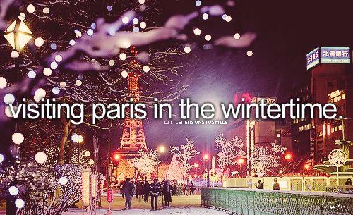 Visiting Paris in the Wintertime #BucketList