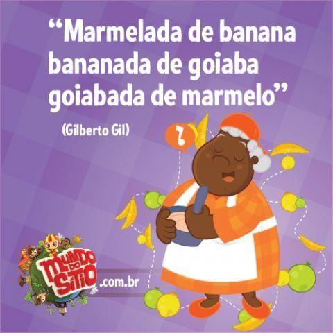 Sítio do Pica-Pau Amarelo - Gilberto Gil (Composição: Gilberto Gil)