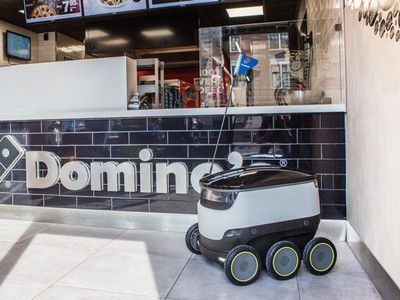 Dominos is going to use sidewalk robots in Germany to deliver pizza  No you dont have to tip a robot when it delivers your pizza.   While technology may innovate at lightning speed good old pizza is here to stay. But that doesnt mean that the way you get your pizza wont change.  Today the global pizza chain Dominos announced it is partnering with Starship Technologies the Estonian-based ground robot startup to begin delivering pizza in Hamburg Germany this year. The companies expect robot…