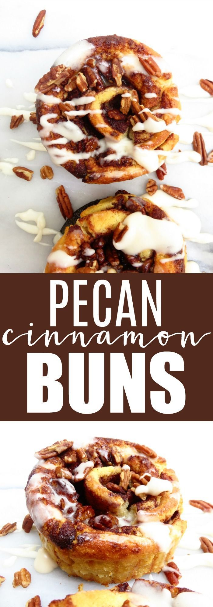 The only cinnamon bun recipe you'll ever need!! These are low(ish) carb, gluten free, and seriously perfect for any brunch occasion! thetoastedpinenut.com