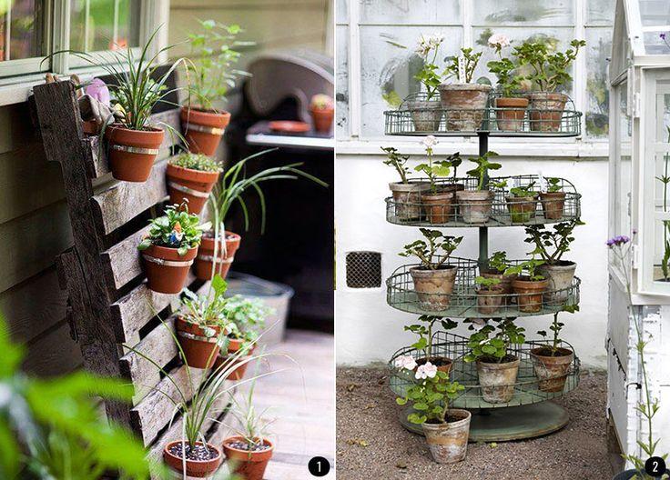Exteriores con plantas patios terrazas jardines for Jardines colgantes para interiores