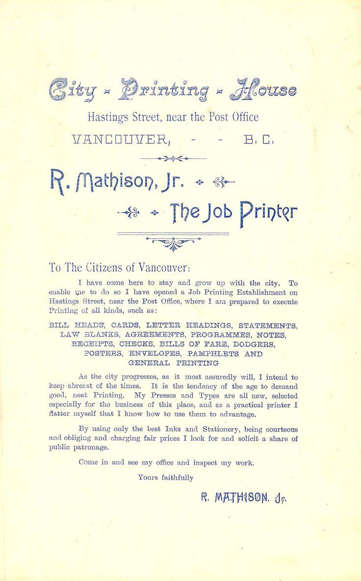 Color printing downtown vancouver - Printer Vancouver