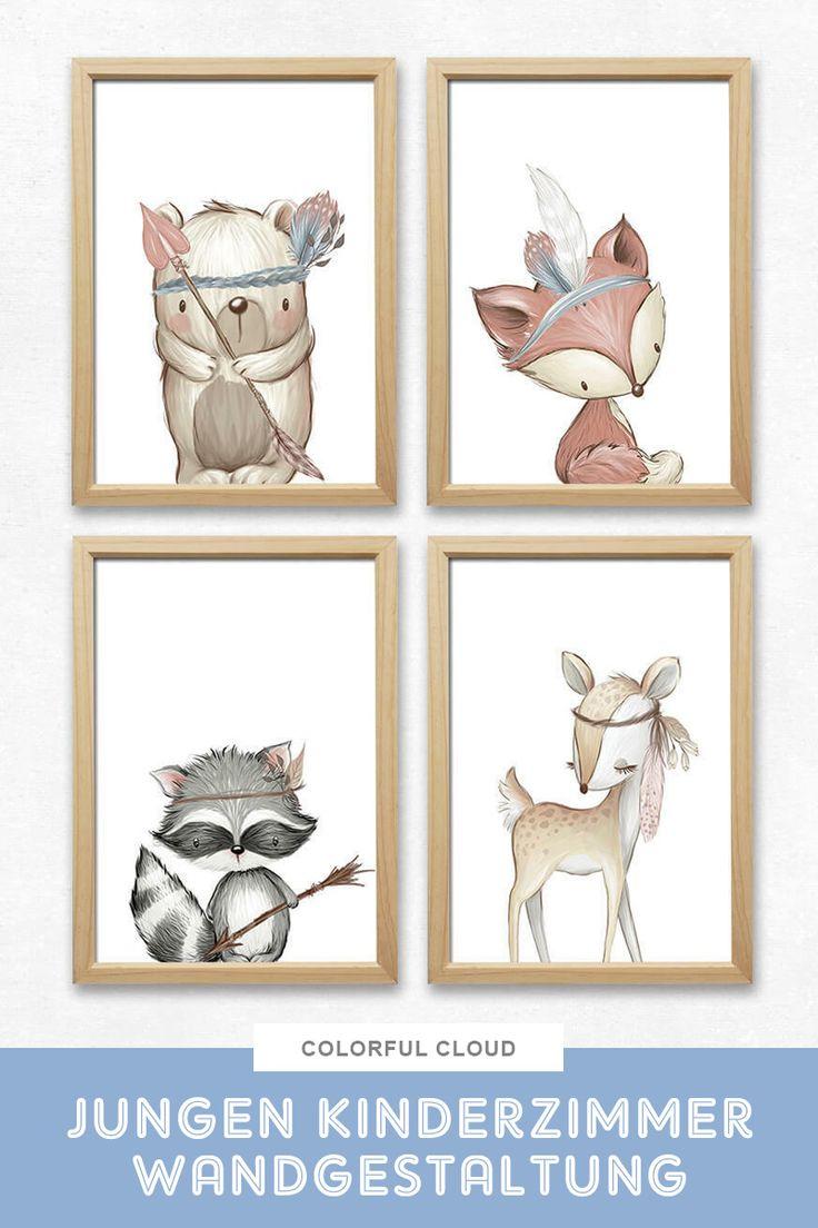 Jungen Kinderzimmer Wandbilder  # Ich werde Tante