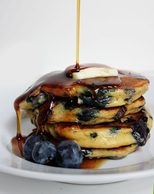blueberry pancakesブルーベリーパンケーキ
