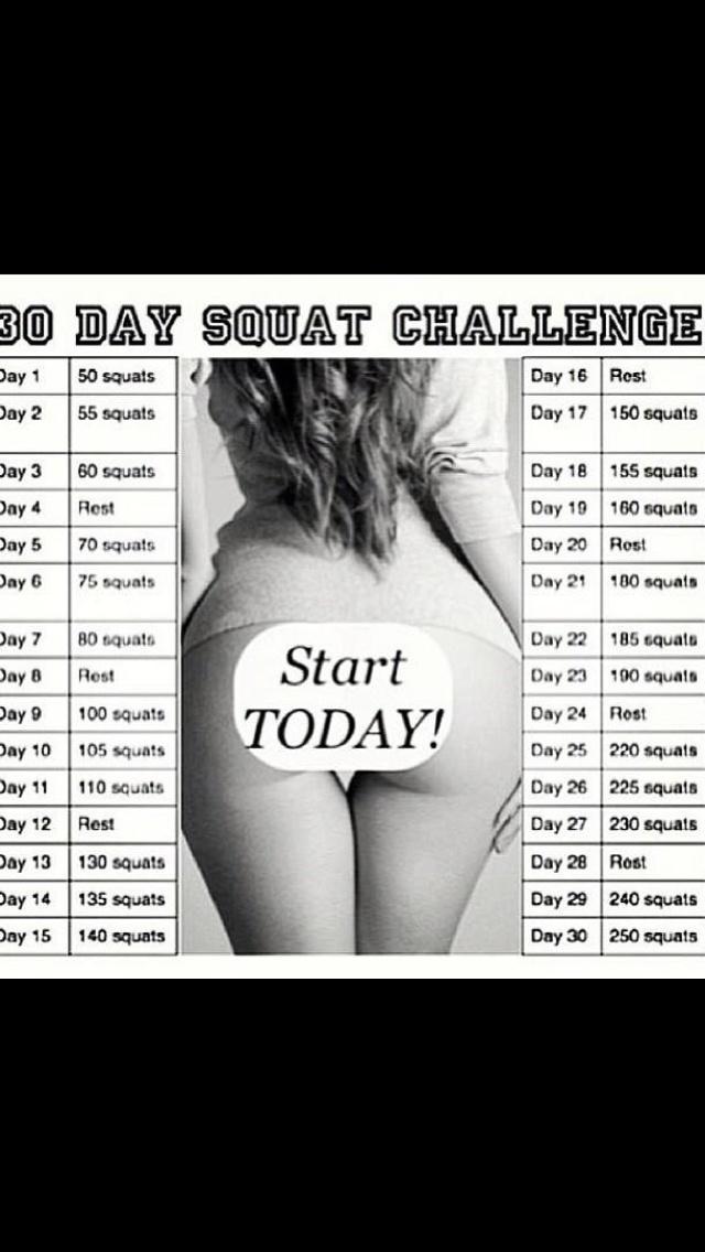 Squat 30 dages udfordringen