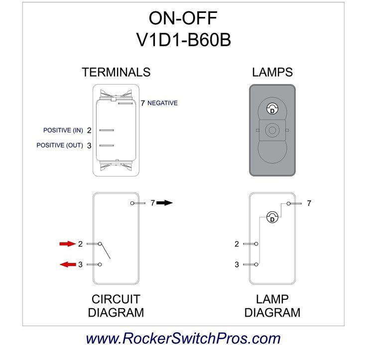 3 Pin Rocker Switch Wiring Diagram Inspirational In 2020