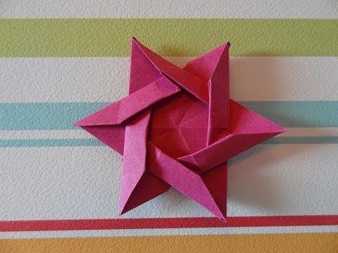 Origami Star of David (HD) You could use this to give Michelle something nice!