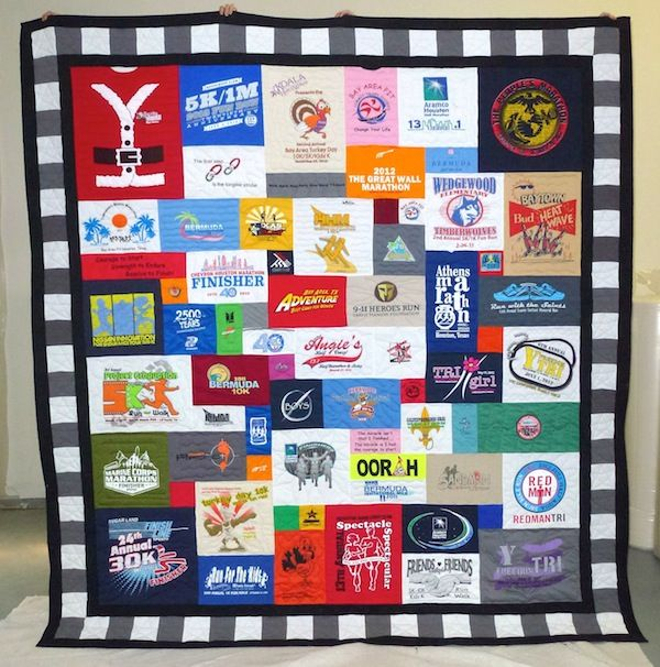 7 best Running tshirt quilt ideas images on Pinterest | Running ... : running t shirt quilt - Adamdwight.com