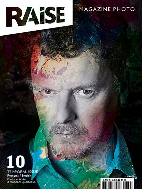 Cover Raise Magazine Issue #10 with Michel Gondry #MichelGondry