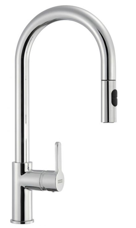 £329 Franke Arena Pull Out Spray Monobloc Kitchen Tap