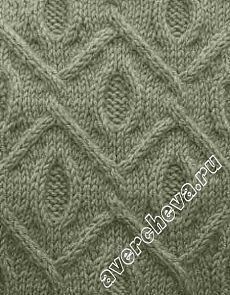 плетенка из жгутов и кос | каталог вязаных спицами узоров