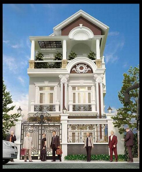 Mẫu nhà phố đẹp 3 tầng diện tích 7x15m phong cách Tân cổ điển mà chúng tôi đề cập trong chuyên mục mẫu nhà phố đẹp là một trong những mẫu nhà phố mang trên mình dáng dấp và phẩm chất của nghệ thuật kiến trúc cổ điển Châu Âu...