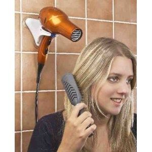 Just bought one for Zoey - HANDS FREE HAIR DRYER HOLDER - COMPACT FOR HOME AND TRAVEL!