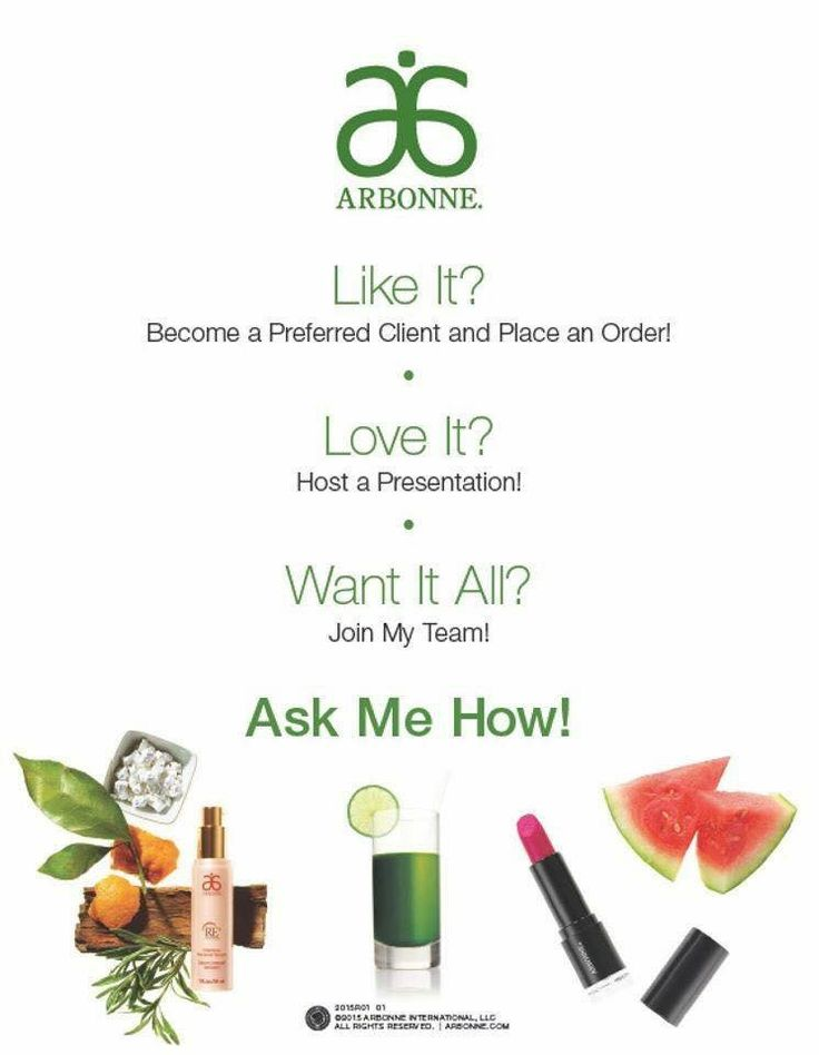 WHO DOESN'T WANT IT ALL ashleycdebaca.arbonne.com #nothingtoloose #everythingtogain