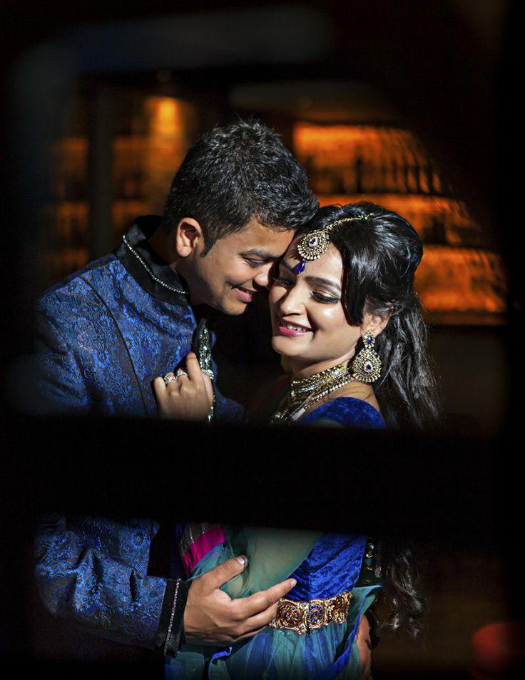 Classic Wedding Photo - colourful indian wedding
