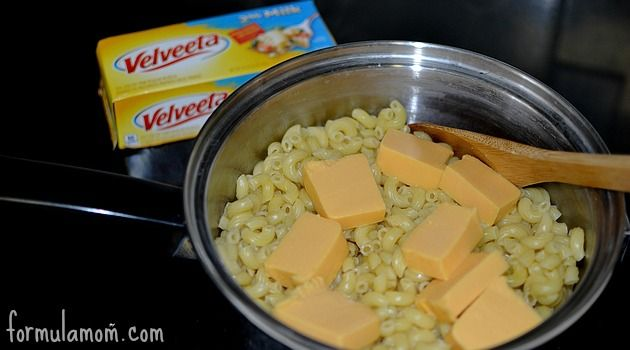 Dinner is made easy with this Velveeta Easy Mac and Cheese recipe! You only need 3 ingredients!
