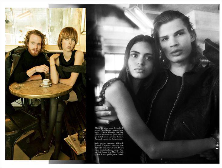 Vogue Italia July 2014 by Steven Meisel