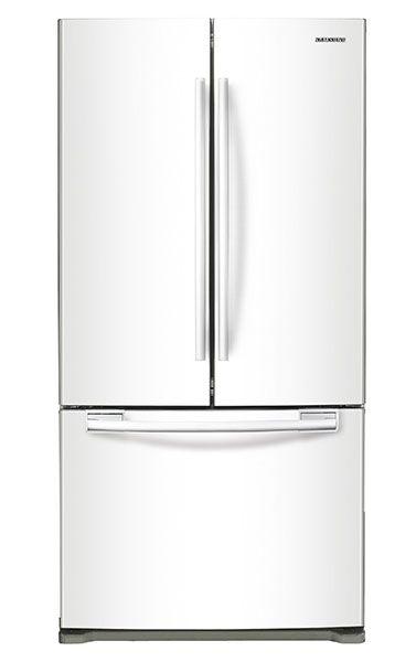 Samsung Cu Ft White French Door Bottom Freezer Refrigerator - Abt samsung
