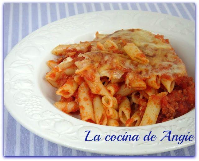 La cocina de Angie: MACARRONES CON QUESO AL HORNO