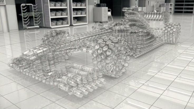 Carro de botellas.