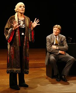 mercedes ruehl theater | Mercedes Ruehl and Larry Bryggmanin Edward Albee's Occupant(© Carol ...