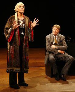 mercedes ruehl theater | Mercedes Ruehl and Larry Bryggmanin Edward Albee's Occupant(© Carol ...