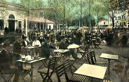 Restaurantul si terasa Otelesteanu.