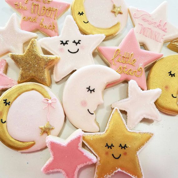 twinkle twinkle little star little star cookies by KessaCakes