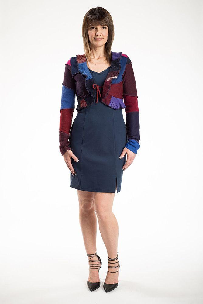 La veste Prusse est le par-dessus parfait pour la saison hivernale. Avec son col frison, vous aurez un look très féminin et tendance.