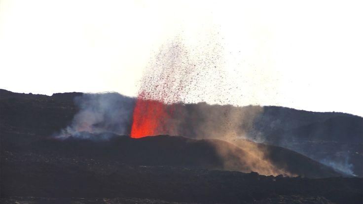 Éruption piton de la fournaise - février 2017