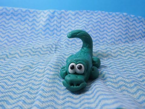 Jak ulepić krokodyla ? How to do with modeling clay crocodile