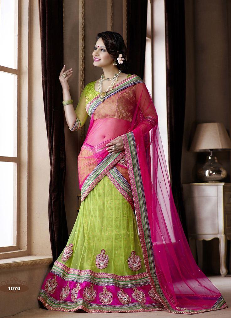 upbeat-resham-stone-work-lime-green-color-wedding-wear-net-lahenga-choli-800x1100.jpg (800×1100)
