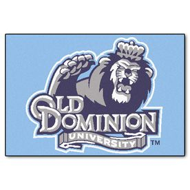 Fanmats Old Dominion University Rectangular Indoor Machine-Made Sports Throw Rug (Common: 1-1/2 X 2-1/2; Actual: 1.583-F