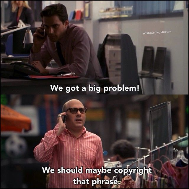 Neal and Mozzie. White Collar Quotes