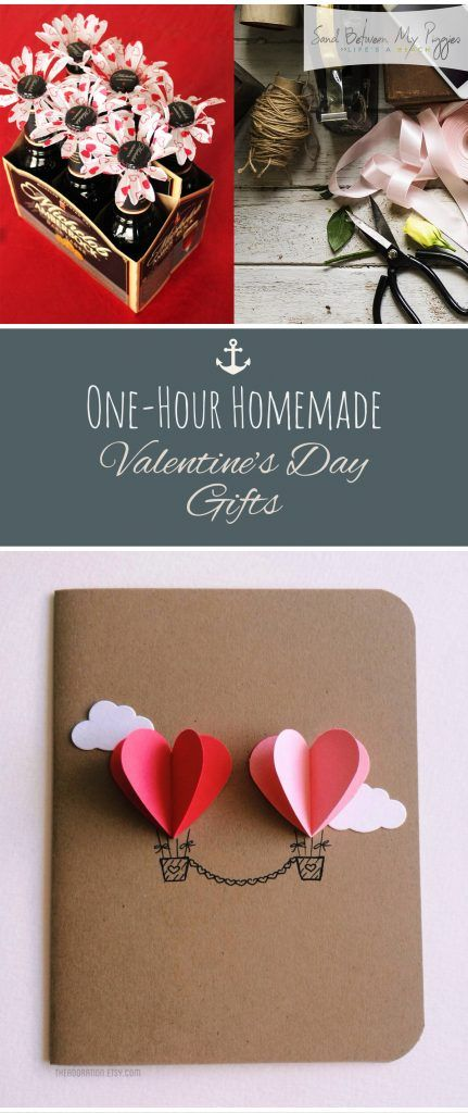 one hour homemade valentines day gifts valentines day gifts gift ideas cheap - Cheap Valentine Ideas