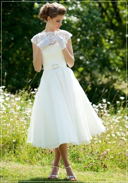 Short Garden Wedding Dress | For more detail visit our page www.weddingyuki.com