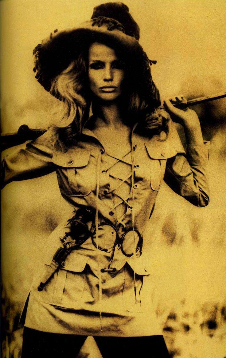 Костюм «сафари». Ив Сен-Лоран, 1968.